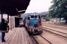T-MEC: Un ferrocarril detenido en la estación Saúl Escobar Toledo